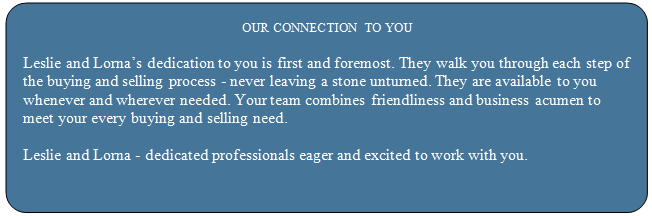 Our Connections to You
